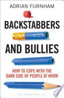 Backstabbers and Bullies