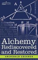 download ebook alchemy rediscovered and restored pdf epub