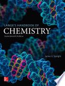 Lange s Handbook of Chemistry  Seventeenth Edition
