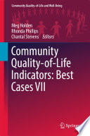 Community Quality Of Life Indicators Best Cases Vii