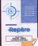 illustration du livre Excel 2003