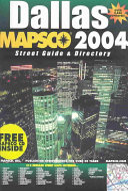 Mapsco Dallas Street Guide & Directory, 2004