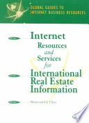 Internet Resources and Services for International Real Estate Information