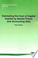 Estimating the Cost of Capital Implied by Market Prices and Accounting Data