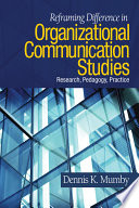 Reframing Difference in Organizational Communication Studies