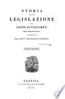Storia della legislazione. Prima versione italiana con prospetto discorsivo di Francesco Foramiti