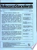 Telecom Standards Newsletter