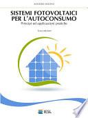 Sistemi fotovoltaici per l autoconsumo