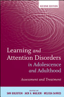 download ebook learning and attention disorders in adolescence and adulthood pdf epub