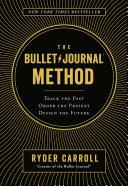 download ebook the bullet journal method pdf epub