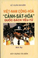 Việt-Nam Cộng-Hòa, cảnh-sát-hóa quốc-sách yểu-tử