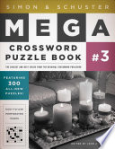 Simon   Schuster Mega Crossword Puzzle Book  3