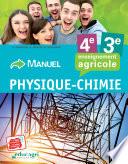 Physique Chimie - 4e et 3e Cahier d'exercices