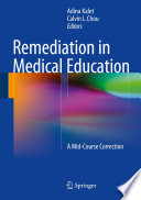 Remediation In Medical Education