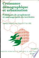 Croissance d  mographique et urbanisation