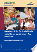 Number Skills For Individuals With Down Syndrome