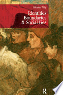 Identities  Boundaries and Social Ties