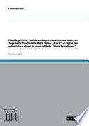 Sittliche Tugenden In Der B Rgerlichen Familie Klara Als Opfer Der M Nnlichen Moral In Friedrich Hebbels Maria Magdalena