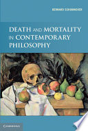 Ebook Death and Mortality in Contemporary Philosophy Epub Bernard N. Schumacher Apps Read Mobile