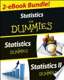 Statistics I   II For Dummies 2 eBook Bundle