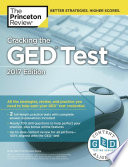 Cracking the GED test 2017.