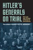 Hitler S Generals On Trial