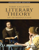 Literary Theory   An Introduction  Anniversary Ed