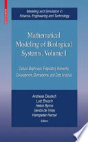Mathematical Modeling Of Biological Systems Volume I