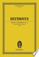 Piano Concerto No  4 G major