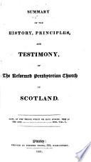 Pamphlets on the Reformed Presbyterian Church