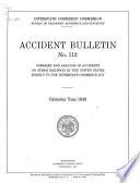 Accident Bulletin