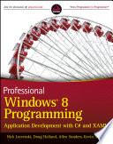 Professional Windows 8 Programming