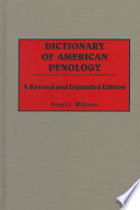 Dictionary of American Penology