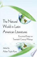The Natural World in Latin American Literatures