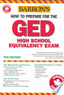Barron s how to Prepare for the GED High School Equivalency Exam  Canadian Edition
