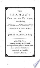 The Seaman S Christian Friend