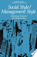 Social Style Management Style