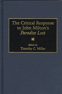The Critical Response to John Milton s Paradise Lost