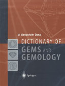Dictionary of Gems and Gemology Book