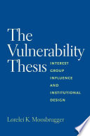 The Vulnerability Thesis