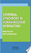 Coverbal Synchrony In Human Machine Interaction