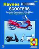 Scooters Automatic Transmission 50 to 250cc