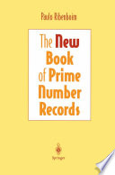 The New Book Of Prime Number Records book