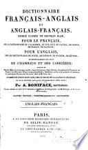 Dictionnaire français-anglais et anglais-français: Anglais-français