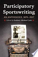 Participatory Sportswriting Lion Sportswriters Were Stepping Onto The