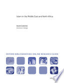 Islam in Middle East and North Africa  Oxford Bibliographies Online Research Guide