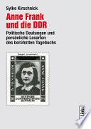 Anne Frank und die DDR