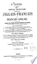 Nouveau dictionnaire portatif anglais   fran  ais et fran  ais   anglais
