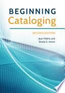 Beginning Cataloging  2nd Edition