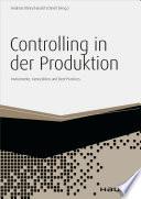Controlling in der Produktion